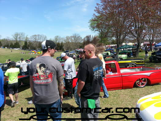 layed out at the park, 2013, yourcustomcar, truck show, car show