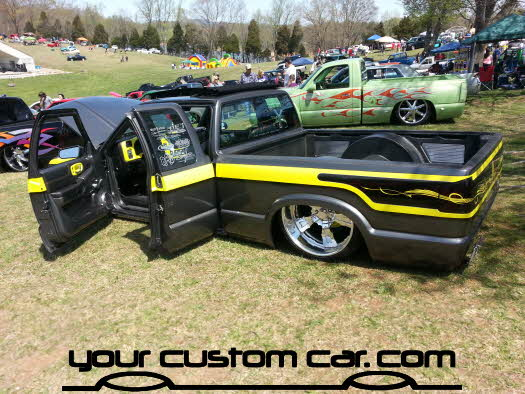 layed out at the park, 2013, yourcustomcar, truck show, car show, custom truck