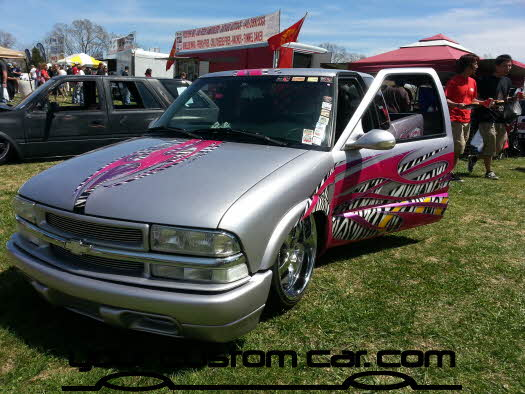 layed out at the park, 2013, best paint s10, yourcustomcar, truck show, car show