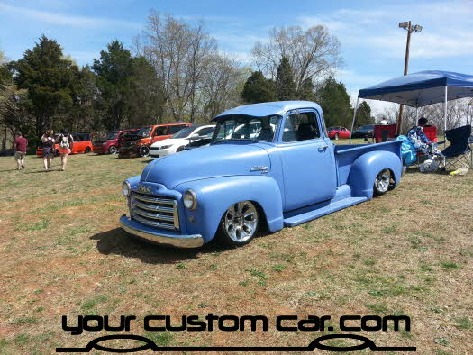 layed out at the park, 2013, air bag suspension, body drop, yourcustomcar, classic chevy truck, truck show, car show