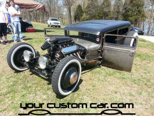 layed out at the park, 2013, yourcustomcar, truck show, car show, custom rat rod