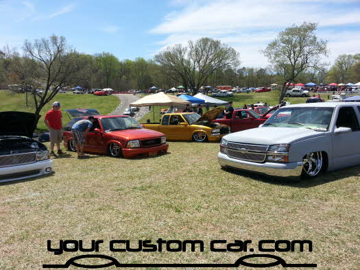 layed out at the park, 2013, yourcustomcar, truck show, car show, custom trucks