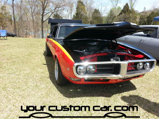 layed out at the park, 2013, yourcustomcar, truck show, car show, custom firebird