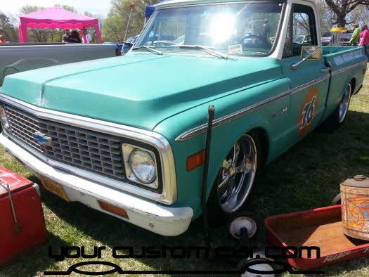 layed out at the park, 2013, yourcustomcar, truck show, car show, custom c10