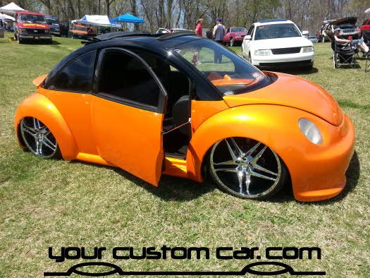 layed out at the park, 2013, custom vw beetle, best of show, yourcustomcar, truck show, car show
