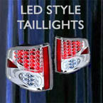 custom taillights, led taillights, tail, lights, led, bulbs, custom car lights