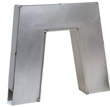 10 inch step notch, c notch, frame notch, weld on notch, notch kit