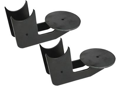 behind and under axle bag bracket, axle bracket, air bag mount, air suspension, 4 link, four, minitruck air, 2500, 2600, lb