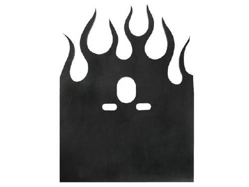 bridge plate, flame steel, airbag mount, truck air bags, rear mount, bridge bar plate, single port
