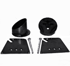 58-64 chevrolet impala, 55-57 chevy, air bag cups, air suspension cups, front bag cups