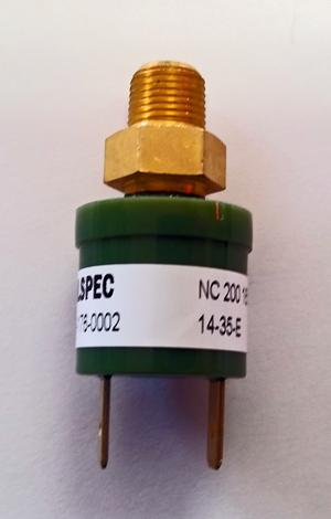 pressure switch, air compressor pressure switch, 12 volt pressure switch,air suspension control, air management, pre wired, 10 switches, fbss, orange, yellow