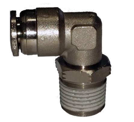 air fitting, air bag suspension, 1/2 inch, push to connect, metal, air ride, air bag, ptc-1212