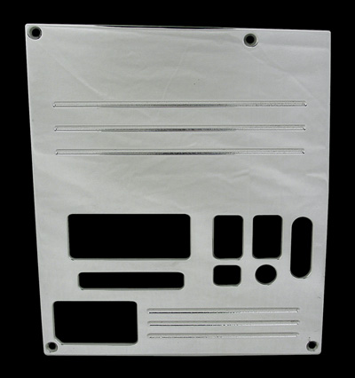 88, 89, 90,chevrolet, gmc, radio plate blank with lines and window, empire rb1l1p