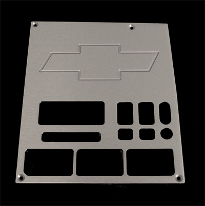 93, 94, chevrolet, gmc, radio plate with chevy bowtie, and 3 windows, empire rb2b3p
