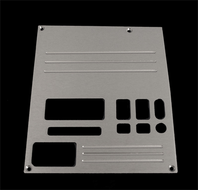 91, 92, 93, 94,chevrolet, gmc, radio plate blank with lines and 1 window, empire rb2l1p