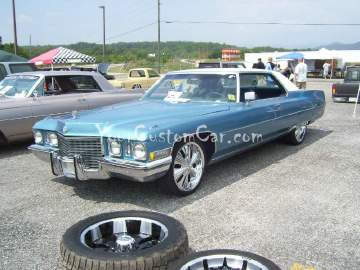 Blu Caddy Big Rims