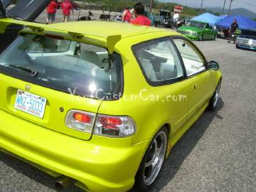Custom Civic Hatchback