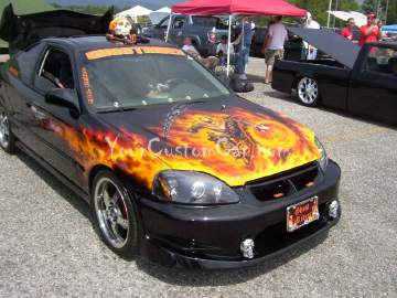 Ghost Rider Civic