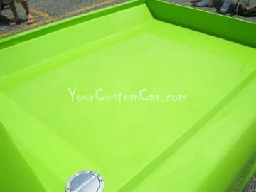 Ranger Custom Bed