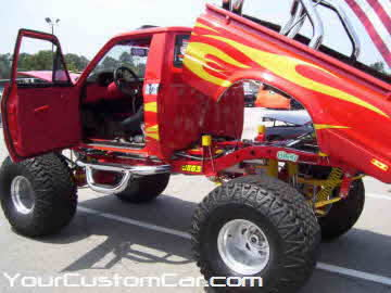 South east showdown, 2010, giant show truck