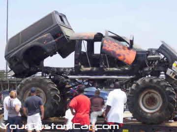 South east showdown, 2010, f250 monster truck