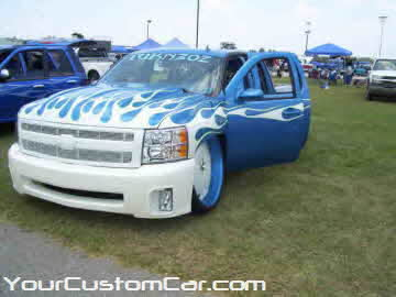 South east showdown, 2010, custom silverado, 30 inch rims
