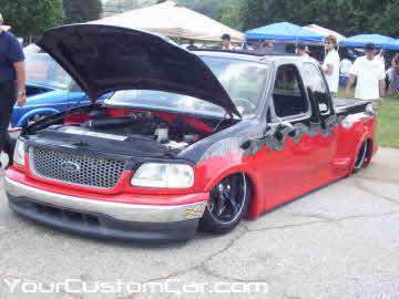 South east showdown, 2010, custom f150