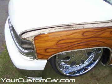 South east showdown, 2010, custom wood grain