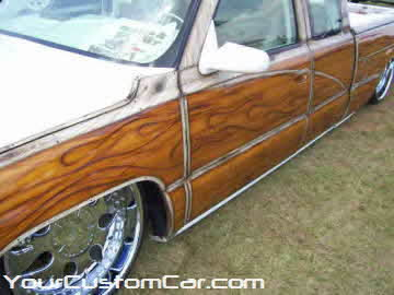 South east showdown, 2010, wood grain truck