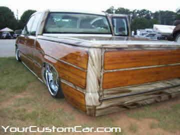 South east showdown, 2010, custom silverado with wood