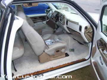 South east showdown, 2010, custom wood grain interior, white shag carpet