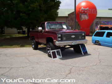 South east showdown, 2010, lifted gmc show truck