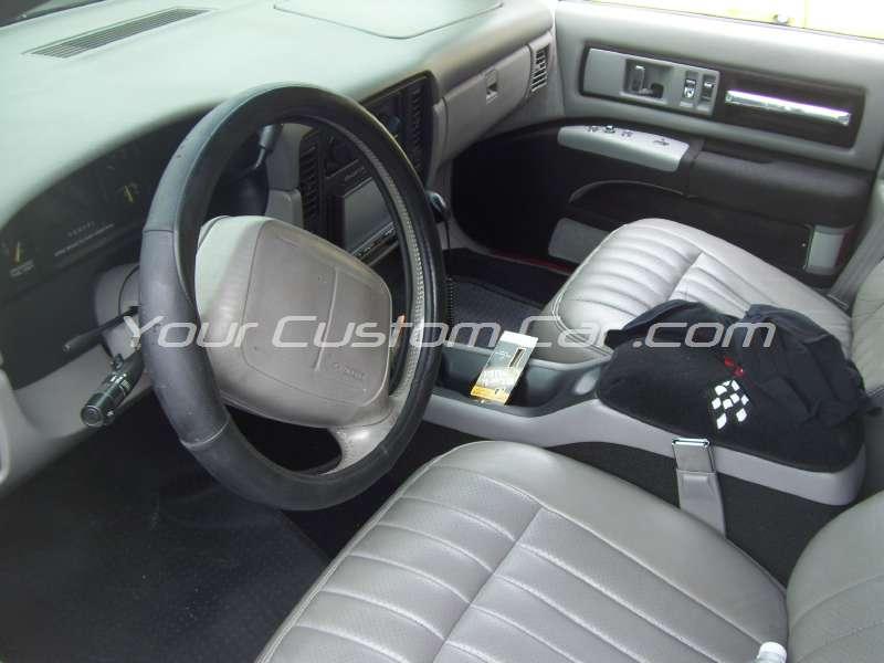 slammin n jammin 09 2009 impala ss interior
