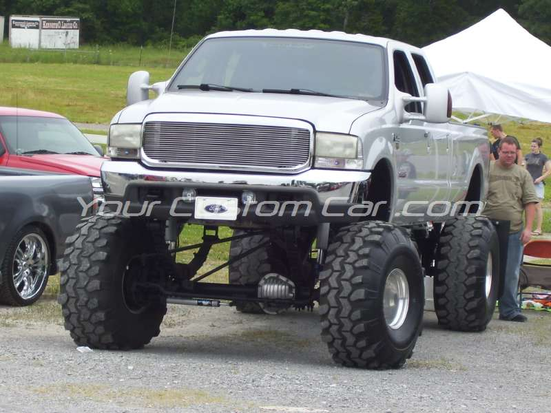 slammin n jammin 09 2009 custom lifted f250 f-250
