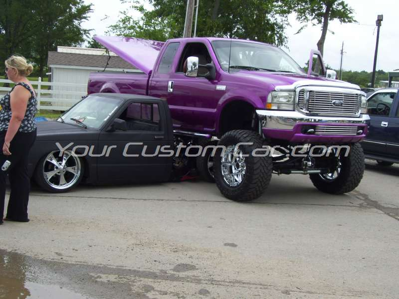 slammin n jammin 09 2009 custom lifted f250