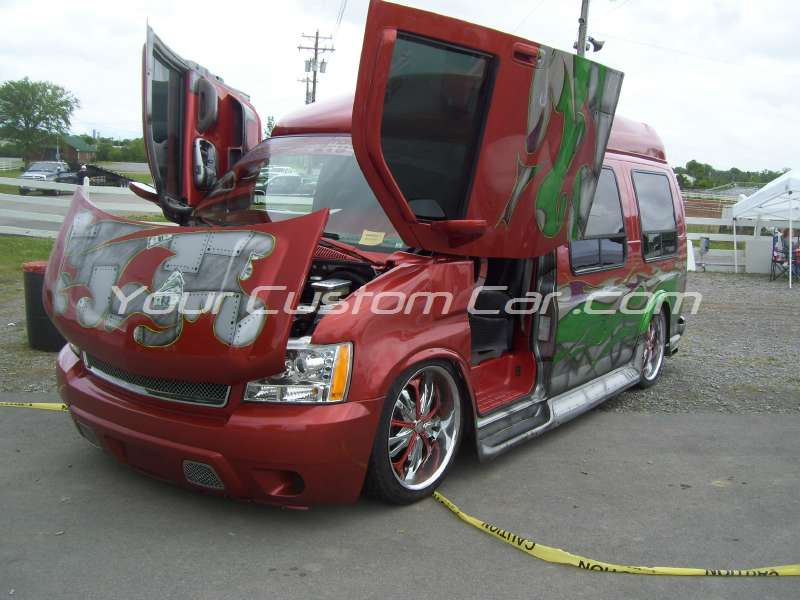 slammin n jammin 09 2009 custom conversion van