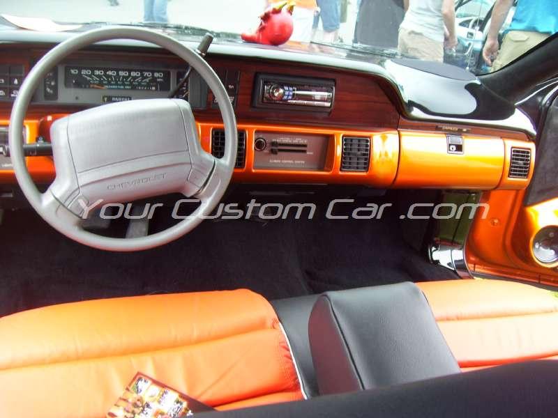 slammin n jammin 09 2009 custom caprice dash