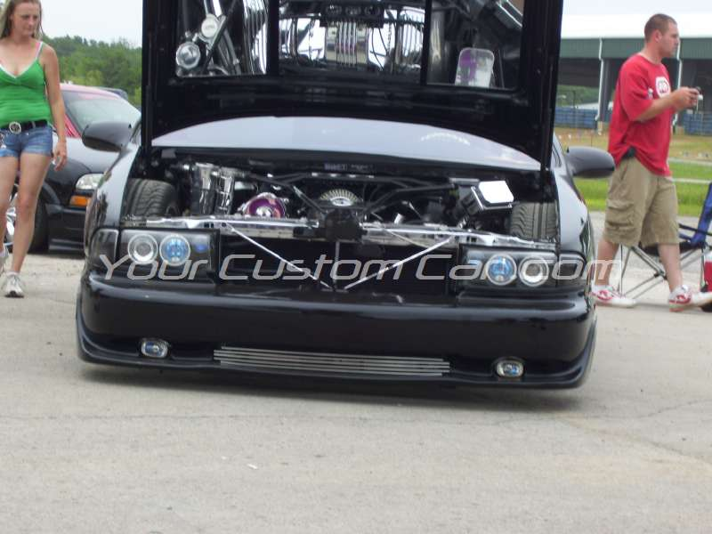 custom 96 1996 impala ss super sport engine chrome lt1 polished billet adam ferguson  slammin n jammin