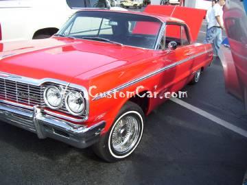 64 Impala on Air Ride