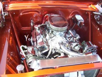 Chevy II Chrome Engine