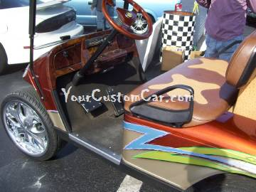 Hooked Up Golf Cart