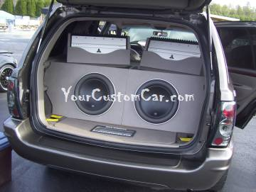 Grand Cherokee JL Audio