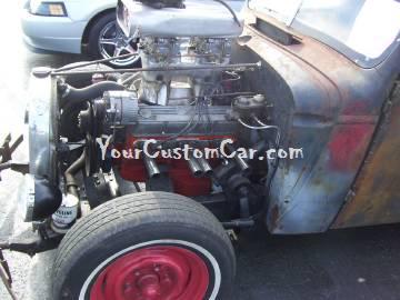 Rat Rod Truck Engine