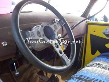 Rat Rod Truck Interior