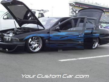 streetwise drift, drop jaw, car show, charlotte, speedway, 4-17-10, custom 96 Impala