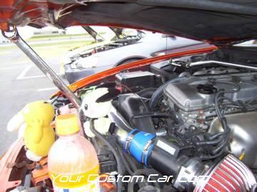 streetwise drift, drop jaw, car show, charlotte, speedway, 4-17-10, 240sx engine