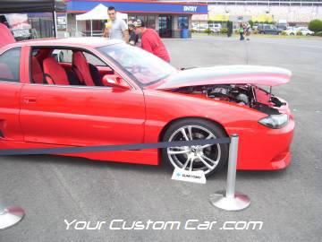 streetwise drift, drop jaw, car show, charlotte, speedway, 4-17-10, custom gram am, grand prix