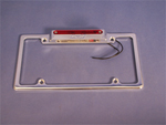 license plate frame, tag frame, lighted, third brake light, empire 322bp