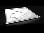 88-98 chevy, side step plates, with chevy bowtie, empire 614p