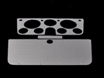 polished truck dash, 88-94 left dash, billet dash